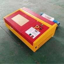 CO2 50 w Laser Machine De Découpe De Gravure Refroidi À L'eau Laser USB Port