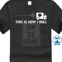 2017 Men's Emt Emergency Medical Technician Paramedic Design Men's 100% Cotton Short Sleeve Tees High Quality O-Neck T Shirt