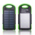 3 en 1 Cargador de Batería Externo Móvil Banco de la Energía Solar 12 LED + Luz de Emergencia Linterna Que Acampa Antorcha de La Lámpara