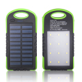 3 in 1 Solar Power Bank 12 LED Cellphone External Battery Charger + Emergency Camping Flashlight Light Torch Lamp