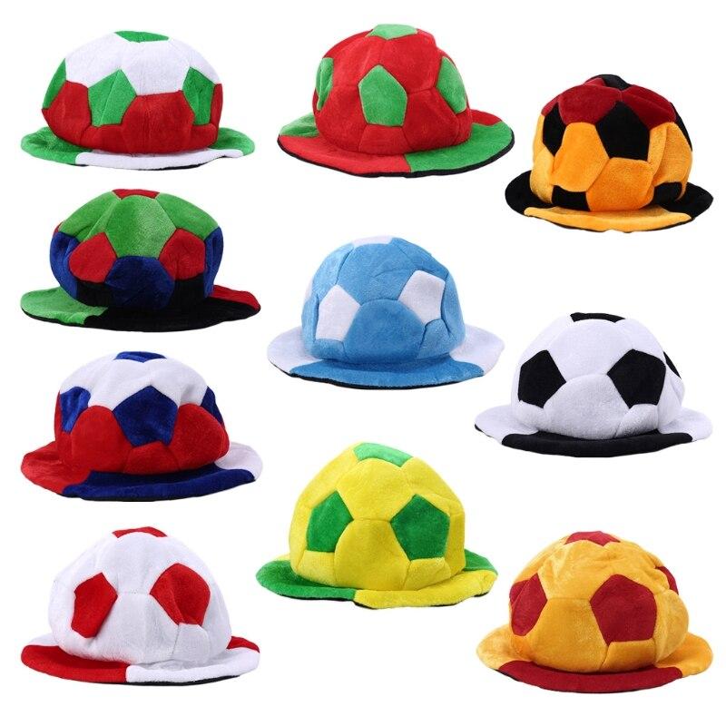 העולם נפגש ספורט משחקי כדורגל צוות לעודד מעודדות אוהדי כובע כובעי בארה 'ב