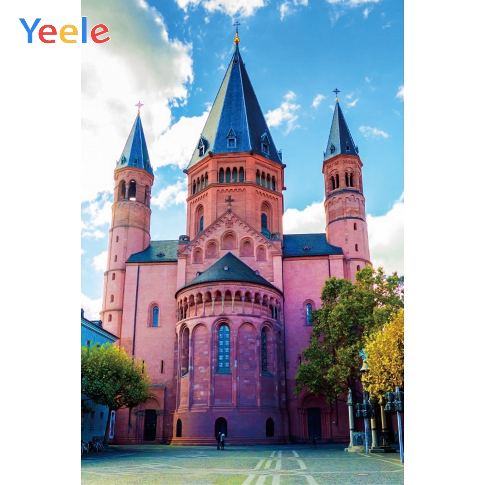 Yeele Landscape Family Photocall Church Room Paint Photography Backdrops Personalized Photographic Backgrounds For Photo Studio in Background from Consumer Electronics
