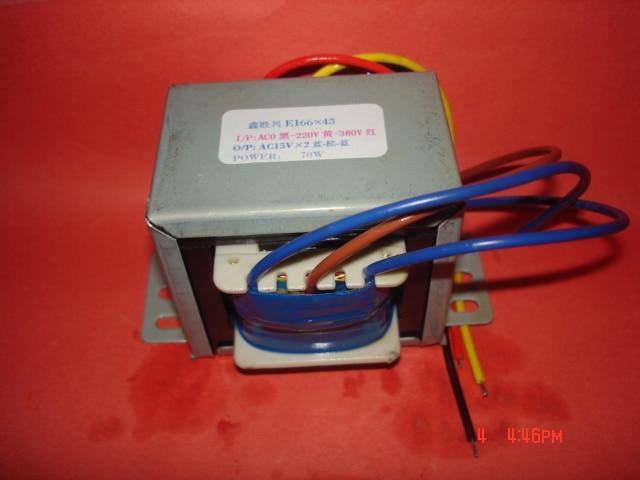 15V-0-15V  Transformer  0-220V-380V  input  70VA   EI66*45   Welder control transformer for zx7-315/40015V-0-15V  Transformer  0-220V-380V  input  70VA   EI66*45   Welder control transformer for zx7-315/400