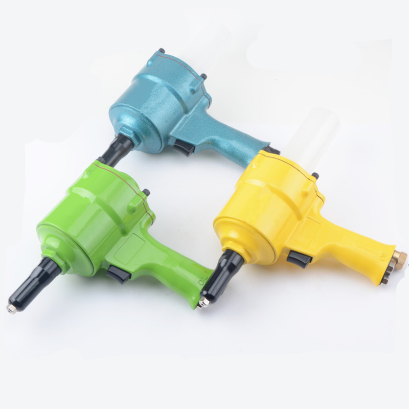 hot sale free shipping high quality taiwan air riveter gun pneumatic riveters pneumatic rivet gun  riveting tool 2.4mm-4.8mm multi function parent child play toys fishing electric toys blue pink