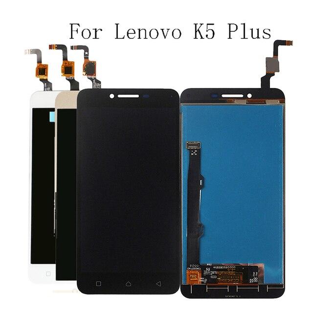 100% тестирование для lenovo K5 плюс A6020 A46 ЖК дисплей сенсорный экран компонент Замена + инструмент 1280*720