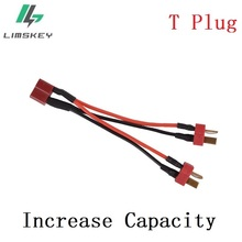 Increase Capacity T plug Connectors Upgrade 2 in 1 Battery b