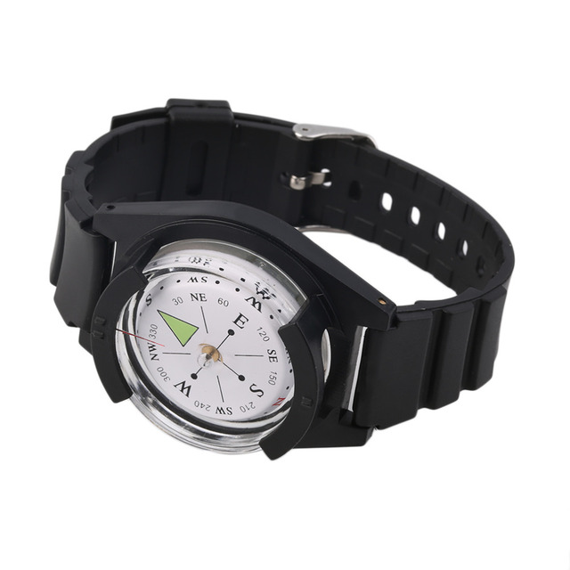 NEW Tactical Wrist Compasses Military Outdoor Survival Strap Band Bracelet free shipping