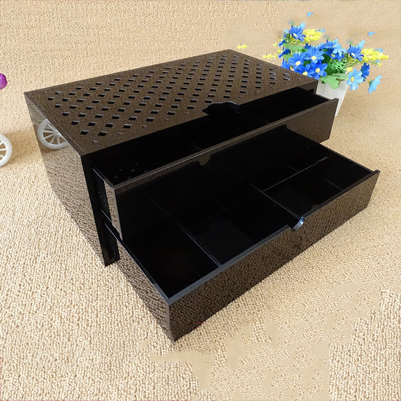1/2 layer Acrylic Makeup Organizer Storage Box Cosmetic Box Jewelry Box Case Holder Display Stand Make up Organizer makeup organizer storage box acrylic make up organizer cosmetic organizer makeup storage drawers organiser