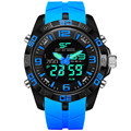 ZGO Men Sports Watches Waterproof Military Quartz Digital Watch Alarm Stopwatch Dual Time Zones Brand New relogios masculinos