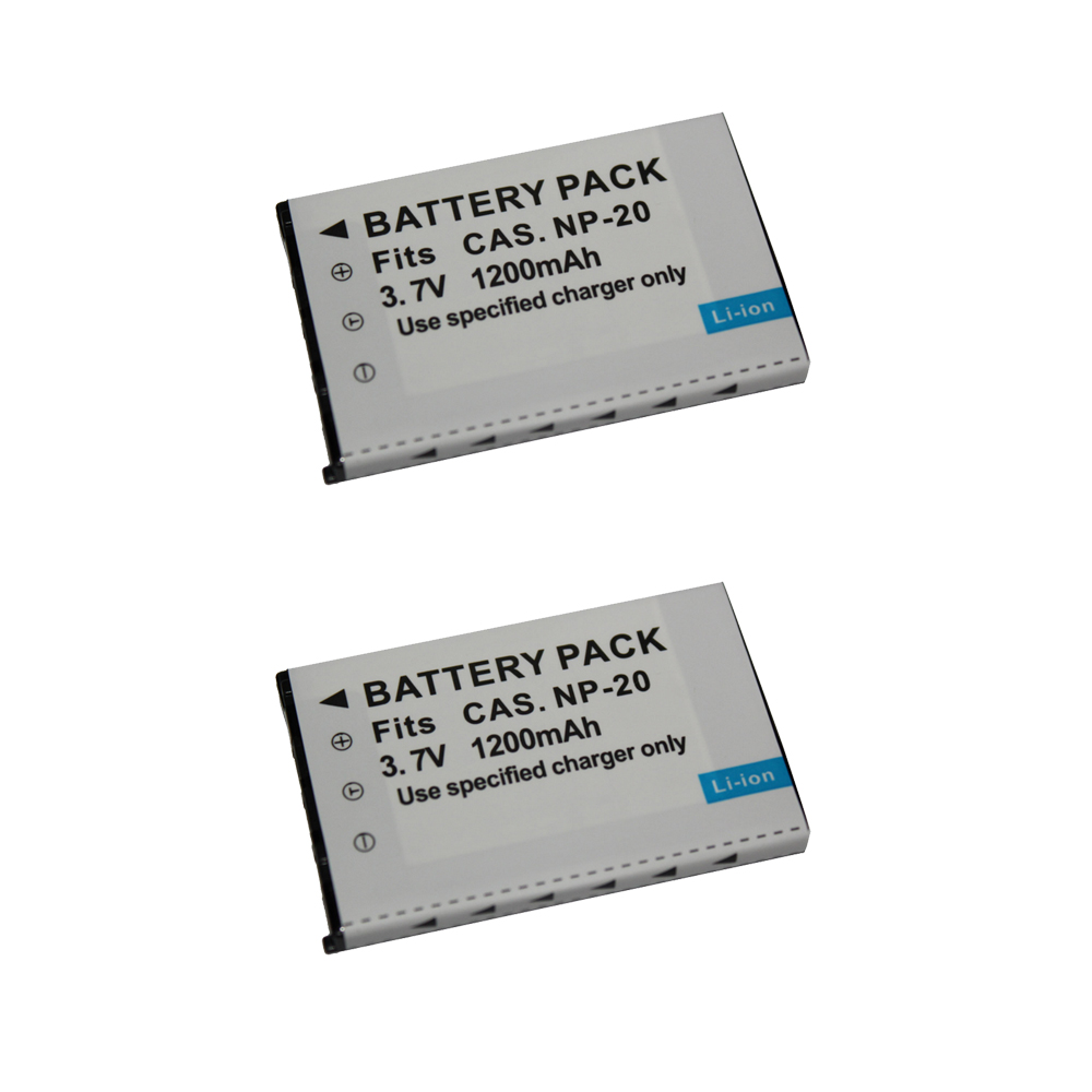 BATTERY Micro USB Charger for Casio Exilim EX-S1 EX-S1PM EX-S2 EX-S2PW