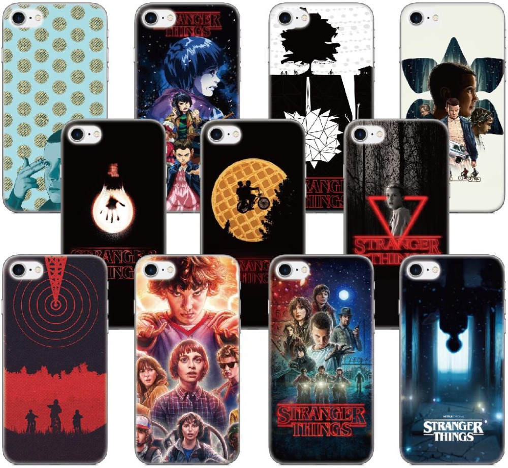 Stranger Things Coque Phone Case For BQ Aquaris M5 E5 E6 M5.5 X5 Plus For Blackberry Z10 Z30 Q10 For Nokia Lumia 520 930 Cover(China)
