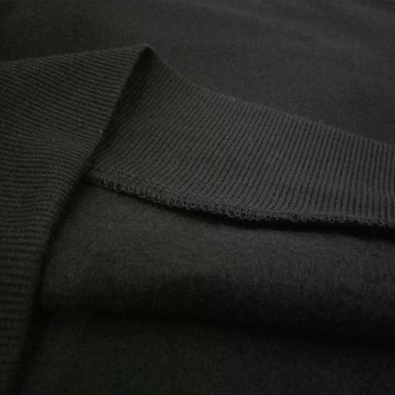 Vrouwen Sweatshirt Hoodies Zwart Wit Crewneck Fleece Truien Herfst Winter Mode Harajuku IK Hebben Problemen Grappige Zeggen Tops