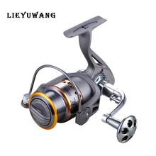 LIEYUWANG CD3000 CNC Metal Carp Fishing Feeder Reel pesca Spool Reels Left /Right Interchanged Drag Freshwater Wheel