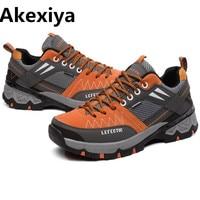 2019 New Anti Slippery Men Hiking Shoes Outdoor Climbing Mountain Hunting Trekking Fishing Brand Hiking Shoes Sneaker
