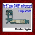 32 gb desbloqueado original para samsung galaxy s7 edge g935f motherboard com batatas fritas, europa versão para s7 g935f mainboard, navio livre