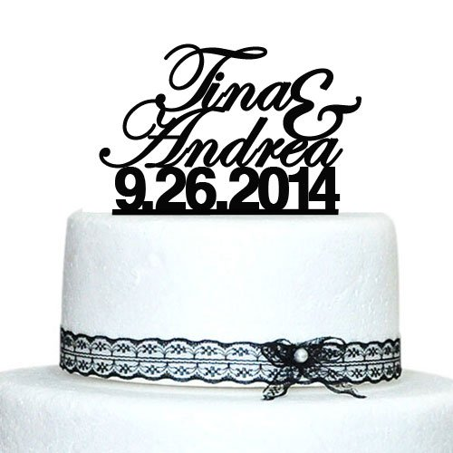 Personalized Wedding Cake TopperCustom Name ToppersGroom Acrylic Topper Proposal Bride To Be Party Supplies In Decorating