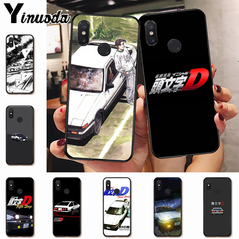 Ynuoda INITIAL D Adorable Colored Drawing Phone