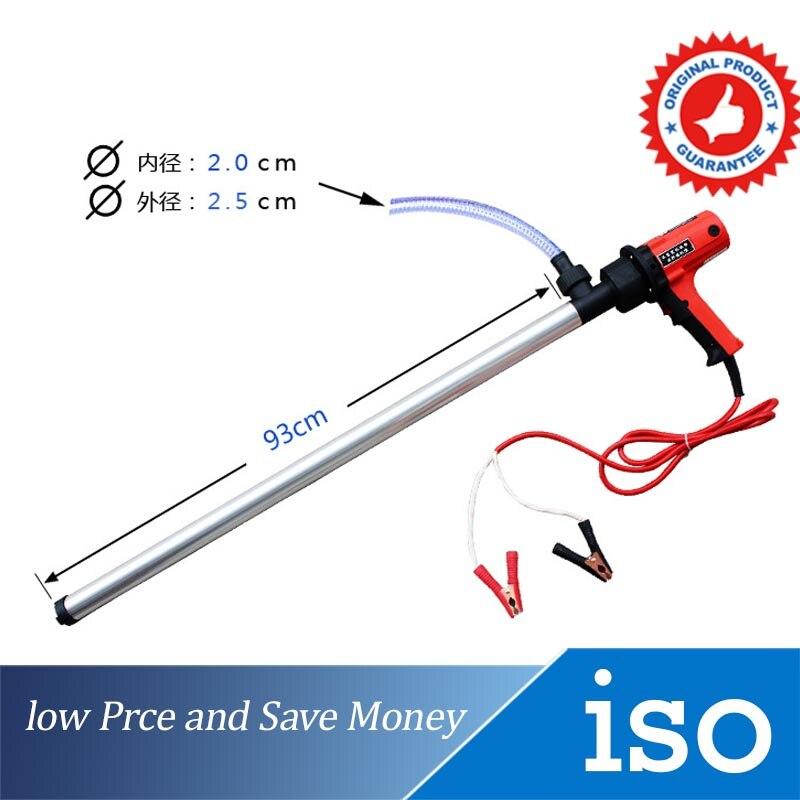 Pompe à huile manuelle 12 V/24 V pompe de transfert de liquide Portable 100L/min