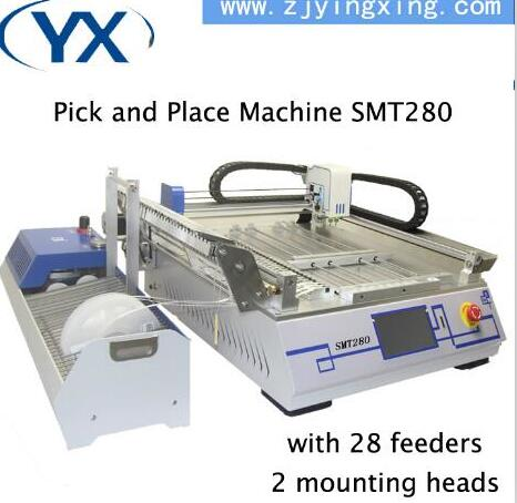 Lead Free Enegry Saving Led Pick and Place Machine Fully Automatic SMD Mounting Machine Adjustable PCB Machine
