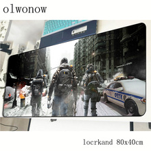 Tom clancy s The Division mousepad 800x400x3mm gaming mouse pad gamer mat Fashion game computer desk