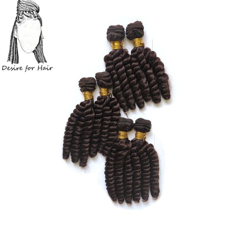 Touha po vlasech 1pack 200g 6bundles 10in-14inch odolné syntetické - Syntetické vlasy