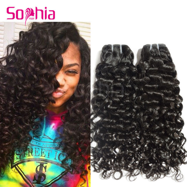 Cuticle Intact Malaysian Virgin Hair Italian Curly Human Hair