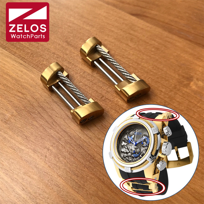 watch strap screw tube link kit for Invicta bolt zeus watch rubber band parts zeus watch