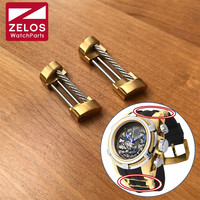 watch strap screw tube link kit for Invicta bolt zeus watch rubber band parts
