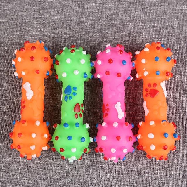 Colorful Dots Dog Bone  5
