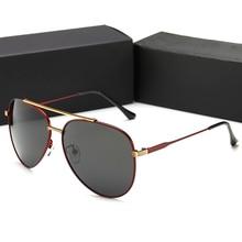 2019 Driving Glasses Men For Porsche SunGlasses Polarized Sunglasses Women Mirror Case