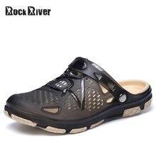 16b83e2f40e Gelée Chaussures Slip-on Sandales Hommes Souffle Hommes Sandales D été En  Plein Air Plage Sandales Pantoufles Occasionnels Croks.