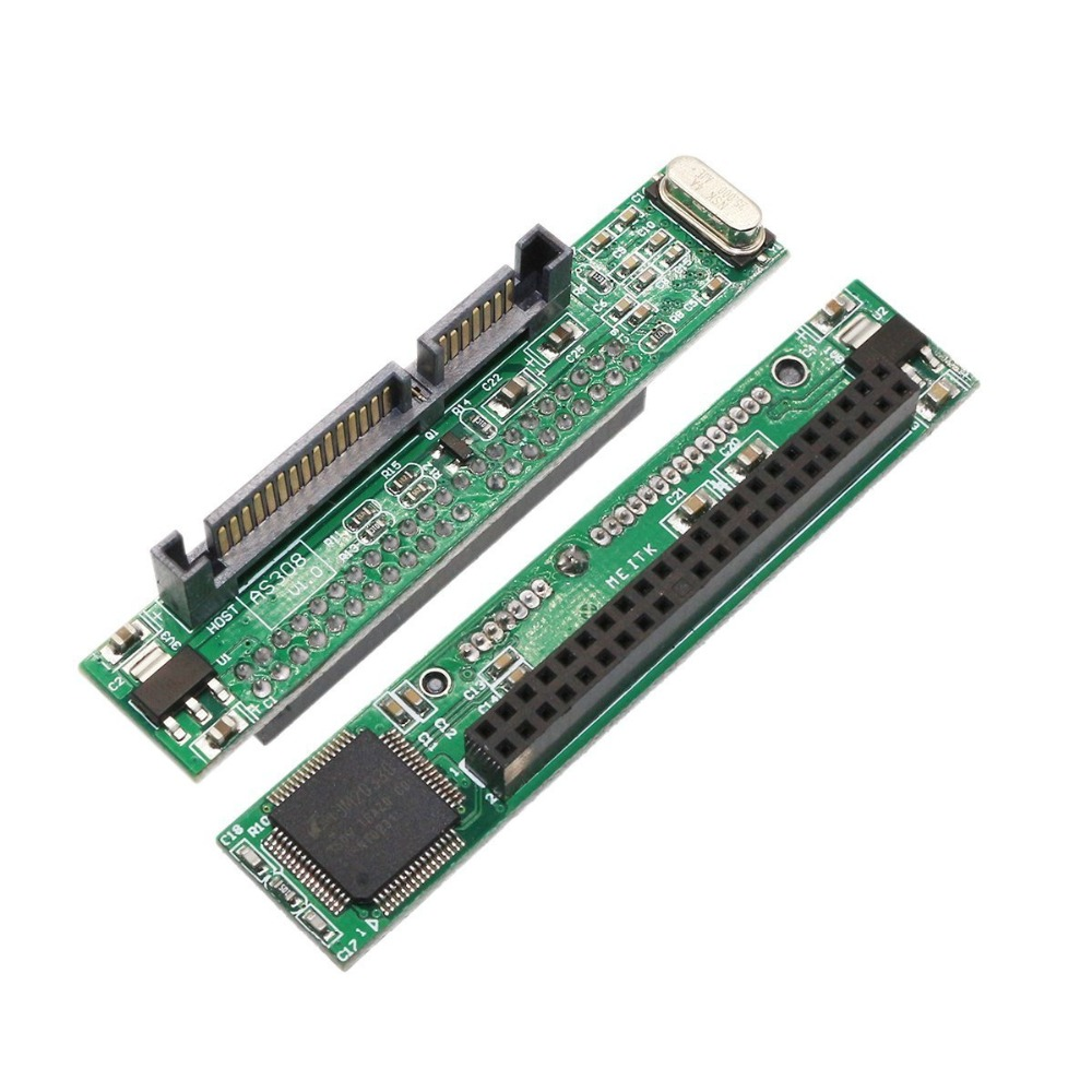 44 Pin 2.5 Inch IDE Laptop Hard Drive Female To 7+15 Pin Male SATA Adapter To Connect A 2.5