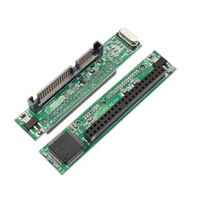 """44 Pin 2,5 Zoll IDE Laptop Festplatte Buchse auf 7 + 15 Pin Stecker SATA Adapter eine 2,5 """"IDE HDD zu einem Serial ATA Port"""