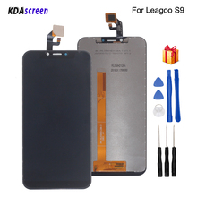 Original For Leagoo S9 LCD Display Touch Screen Digitizer Replacement For Leagoo S9 Display Screen LCD Phone Parts Free Tools