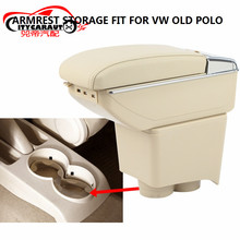 CITYCARAUTO BIGGEST SPACE+LUXURY+USB Car armrest box central Storage content box with cup holder USB FIT FOR VW POLO 2004-2015