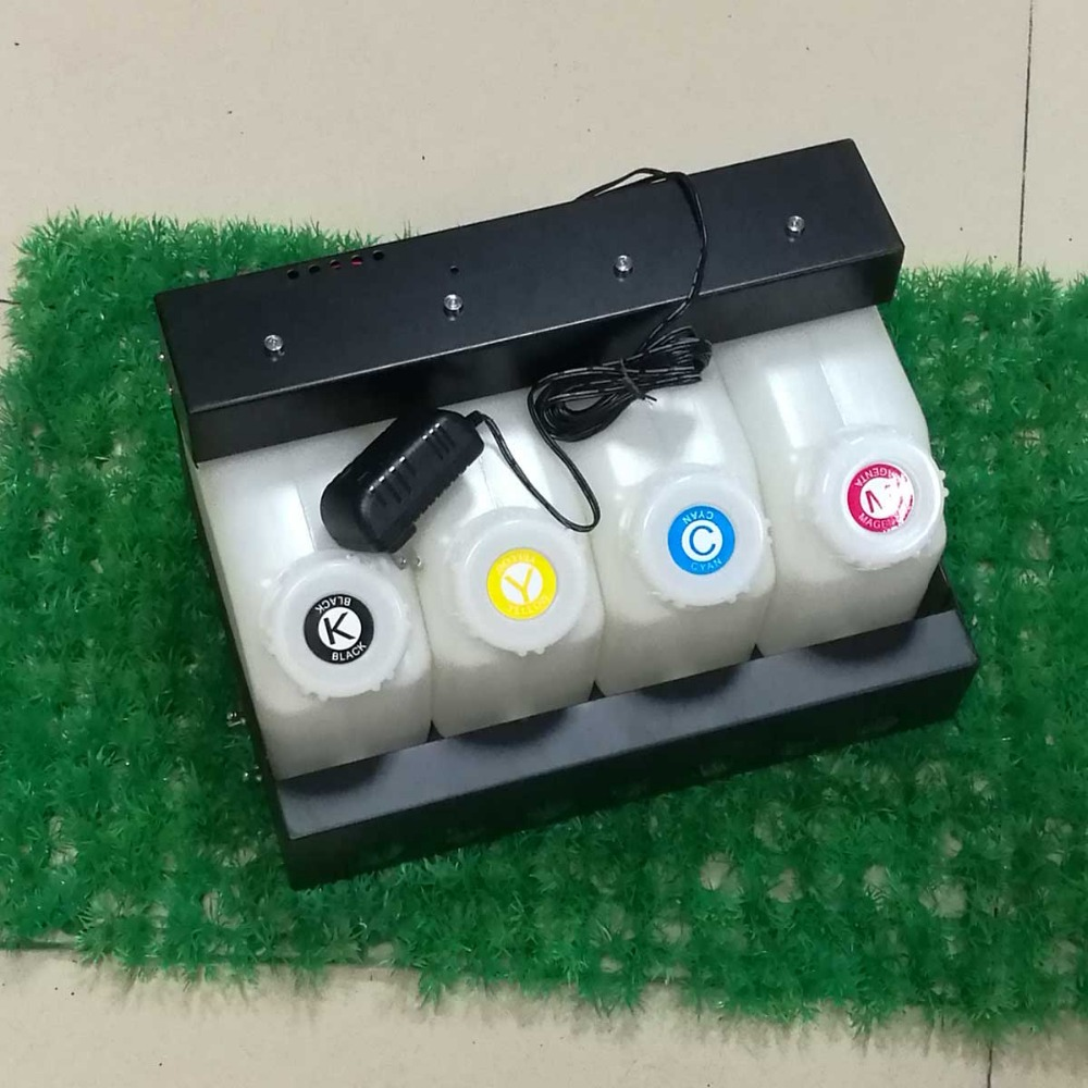 Bulk Continuous Ink Supply CISS Roland Mutoh Mimaki ink Cartridge 220ml Bulk ink system ink tank level sensor warning buzzer 1000ml x 4color textile pigment ink in bottle for roland mimaki mutoh printer