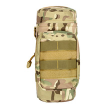 5 Colors Multi Camouflage Waist Hung Large Water Bottle Pocket Kettle Bag Tactical Bag Outdoor 5L capacity