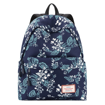 Casual School Backpack Bag for Teenager Girls Female Travel Laptop Bags Flower Printed Back Pack Women Bagpack Sac A Dos 2020 women backpack female high quality leather multi pocket school bags for teenage girls sac a dos travel back pack rucksacks