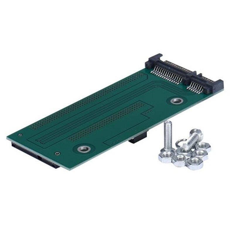 MSATA To SATA For Asus UX31 UX21 XM11 SSD Adapter   July19#2 шасси orient uhd 2msc12 для ssd msata для установки в sata отсек оптического привода ноутбука 12 7 мм 30345