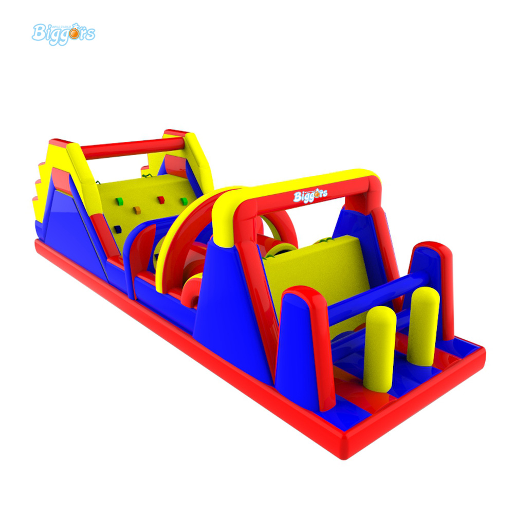 Wholesale Price Outdoor Inflatable Sport Game Inflatable Giant Obstacle Course For Challenge Game inflatable cartoon customized advertising giant christmas inflatable santa claus for christmas outdoor decoration