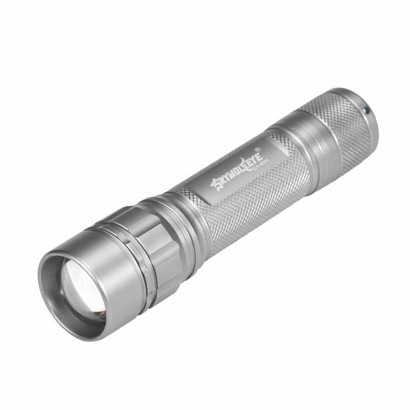 Foco 3000 lumens 3 modos cree xml xpe led 18650 lanterna tocha poderosa