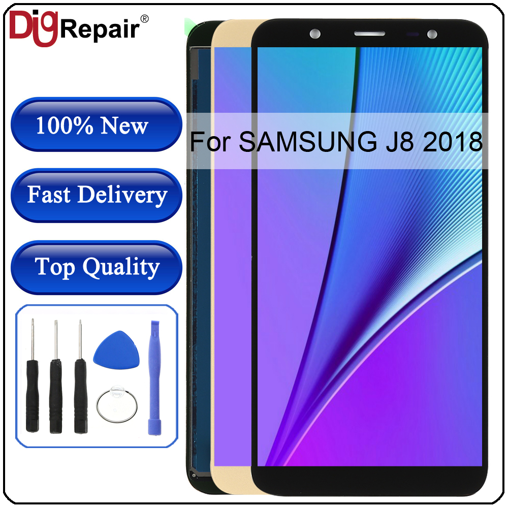 J8 LCD For Samsung Galaxy J8 2018 J800 LCD Display Touch Screen Digitizer Assembly Parts SM-J800 display For Samsung J8 2018 LCD