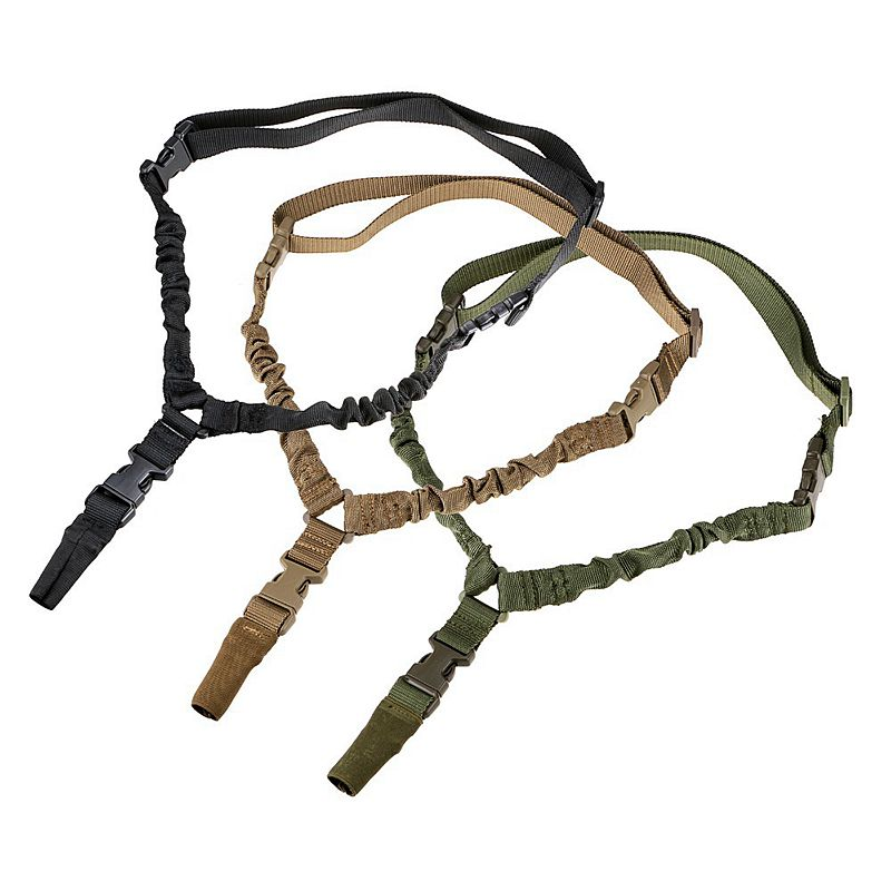 Adjustable Tactical Gun Sling One Single Point Gun Rope Starp Quick Release Hunting Accessories Rifle Gun Airsoft Shooting Strap