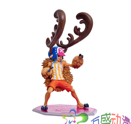 Pack In Retail Box Classic Anime 18cm Tony Chopper One Piece Action Figures PVC brinquedos Collection Men Christmas Gift Toys japanese anime cartoon one piece tony tony chopper 2 years later pvc action figures toys 5pcs set with box