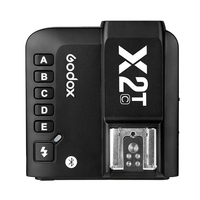 X2t Remote Photograph LCD Screen Wireless Bluetooth Mini Connection Camera Anti Interference Accessories Transmit Flash Trigger