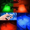 Высокое качество Беспроводной Пульт Дистанционного/Музыка/Голосового Управления Автомобилей RGB LED Neon Авто Интерьер Свет Лампы Ленты Декоративные Светильники стайлинга автомобилей