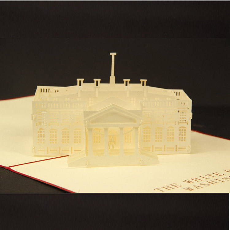 white house  d greeting card happy valentine's day wedding, Birthday card