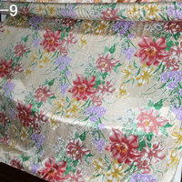 1605 new design wholesale wide width 240cm Printed Pure Silk Satin Fabric for bedding set pillowcase sheet and quilt cover