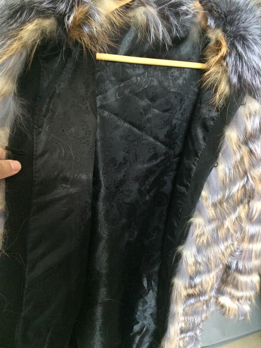 Bande Vente Bas Argent Stock Lady Automne Promotion Rouge Renard Prix De Printemps Pour Rayé Designer Long Fourrure Discount Manteau Vêtements qwCpU1xB