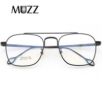 Pure Titanium Glasses Eyeglasses Frame Men vintage brand oversize Prescription Spectacles High quality points aviation Eyewear